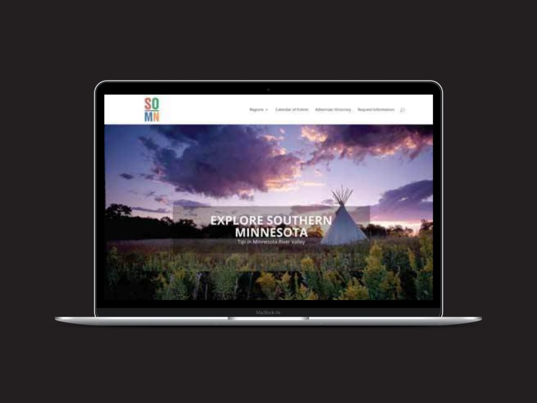 Explore Southern Minnesota Microsite desktop screenshot
