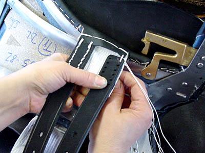 Stübben: attaching the billets