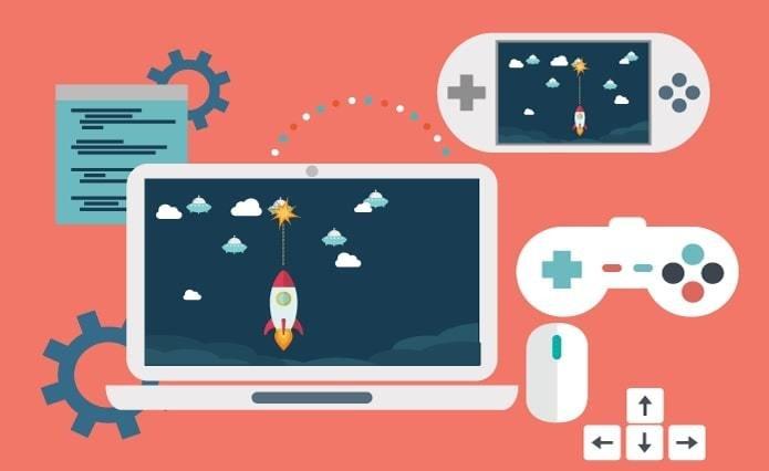 Mobile gaming development game development tools softwares