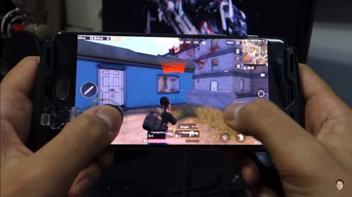 Mobile game handle for pubg experience more