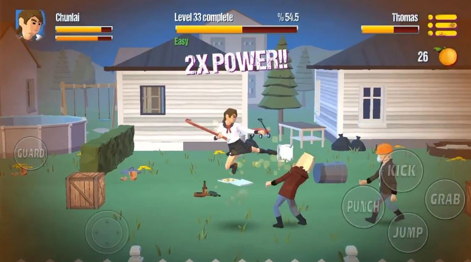 City Fighter Vs Street Gang Game Review download mod apk