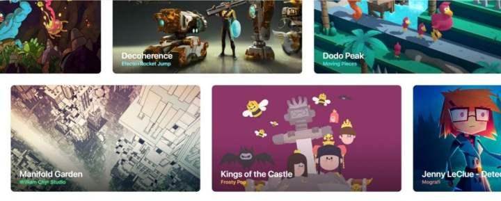 Apple Arcade Games list