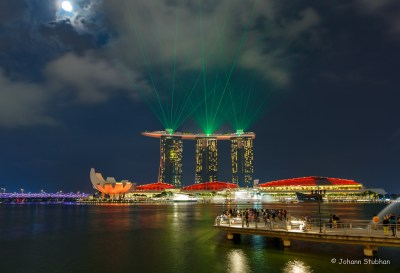 Singapur – i Light Marina Bay