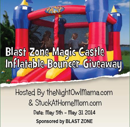 Blast Zone Magic Castle Giveaway