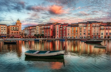 The Bay at PortofinoThis isn't really Portofino, but it sure does look like it, eh? We might even make the case that it is more pretty than the real Portofino! This is a beautiful resort in Orlando, over at Universal Studios.from Trey Ratcliff at www.stuckincustoms.com