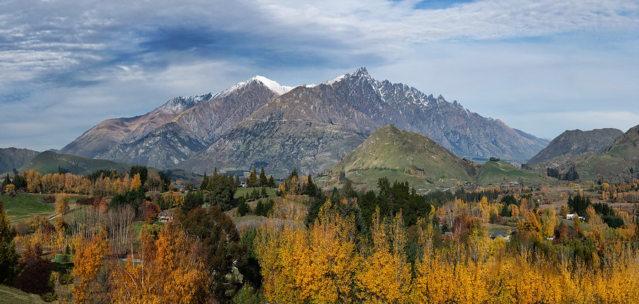 The Remarkables in the Fall