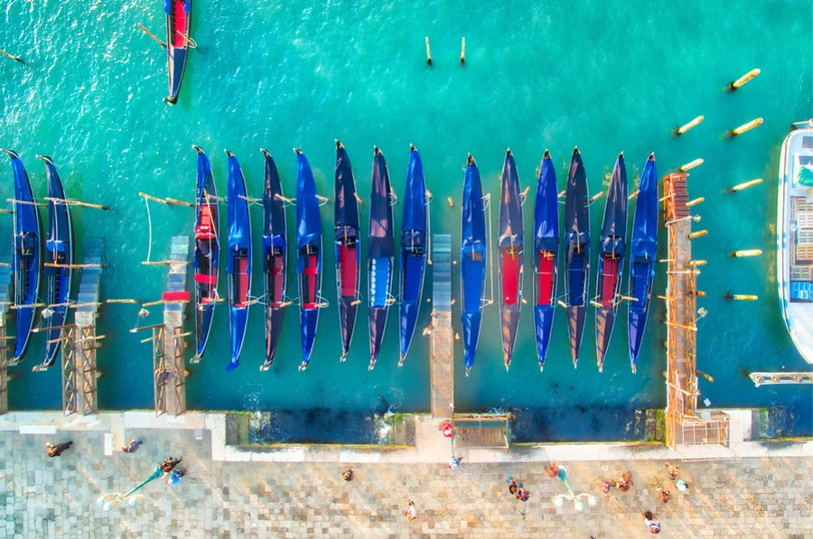 Gondolas From Above