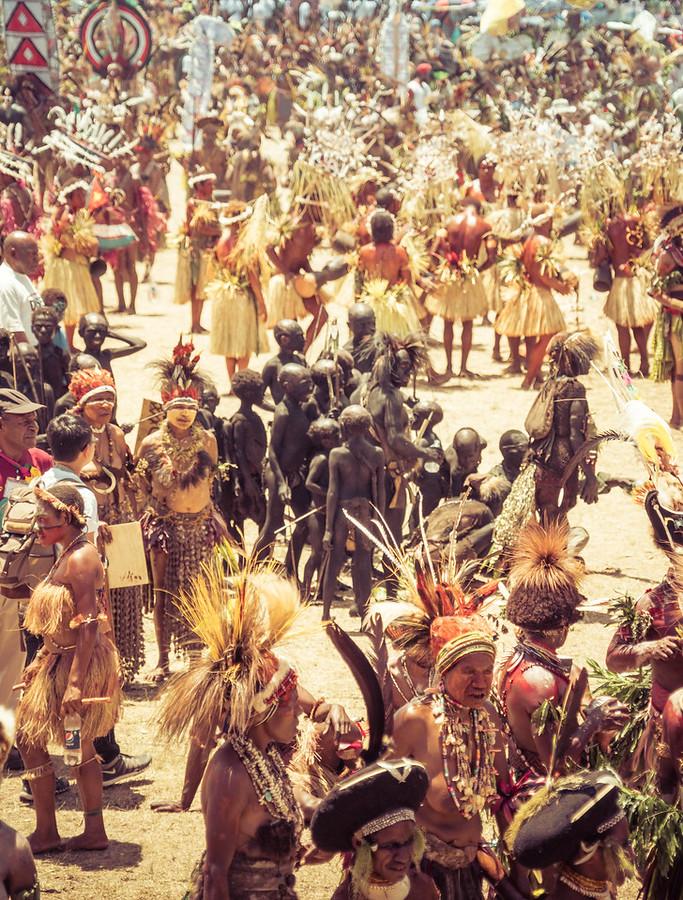 The Festival in Goroka