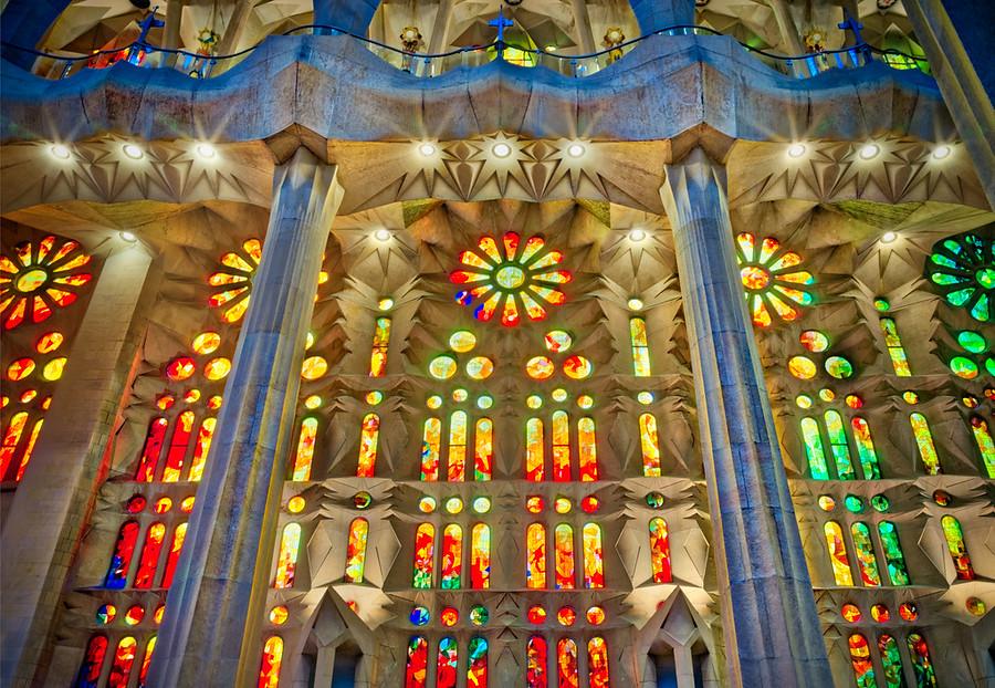Colors of Gaudi