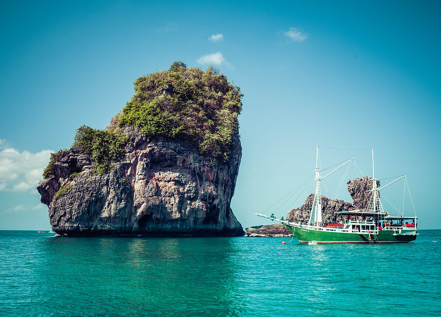 Exploring The Archipelago Around Krabi In Thailand