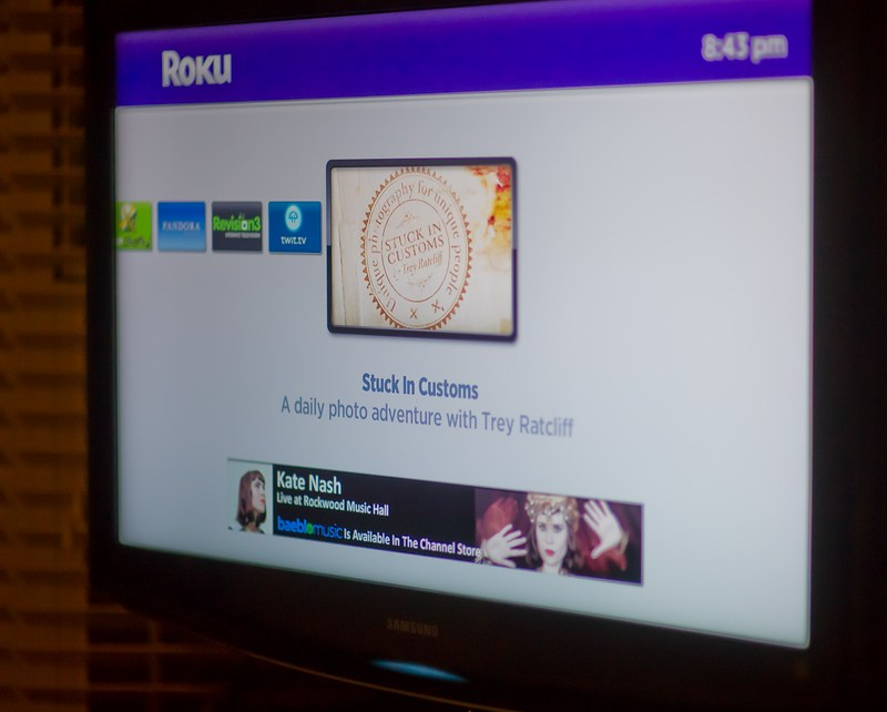 ROKU stuck in customs