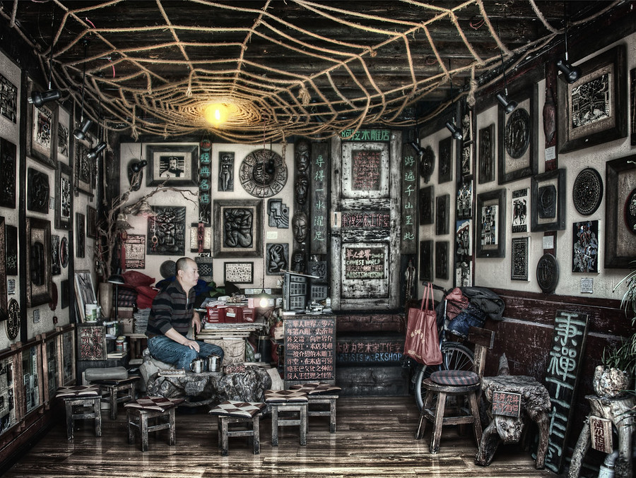 The Home of the Artist What do you think is happening here?  What fanciful story can you concoct?I grabbed this yesterday while exploring inside and around Lijiang...- Trey RatcliffClick here to read the rest of this post at the Stuck in Customs blog.