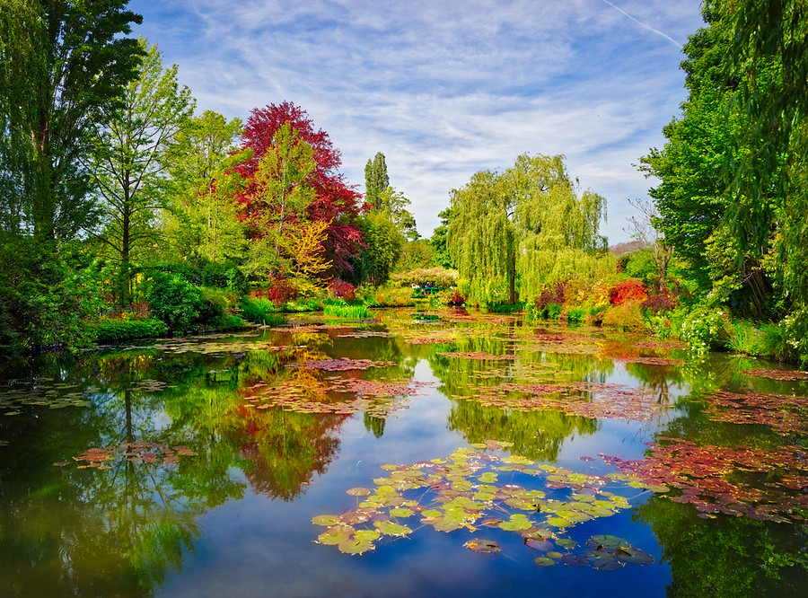 "This is Monet's garden in Giverny, France. Don't forget that if you click the little ""i"" on Smugmug that you can get all the EXIF."