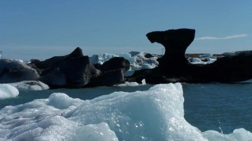 The shapes of sizes of the icebergs are mind boggling and ever changing