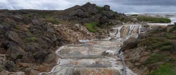 The geothermal pools at Landmannalugar. Soaking in them is really nice.