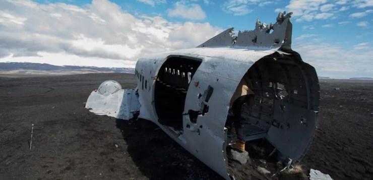 Douglas C-47 in Iceland.