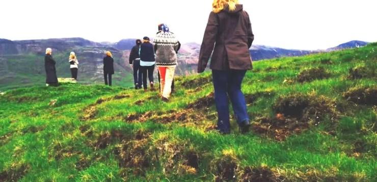 Exploring Thristapar (photo credit: Tor Bilski)