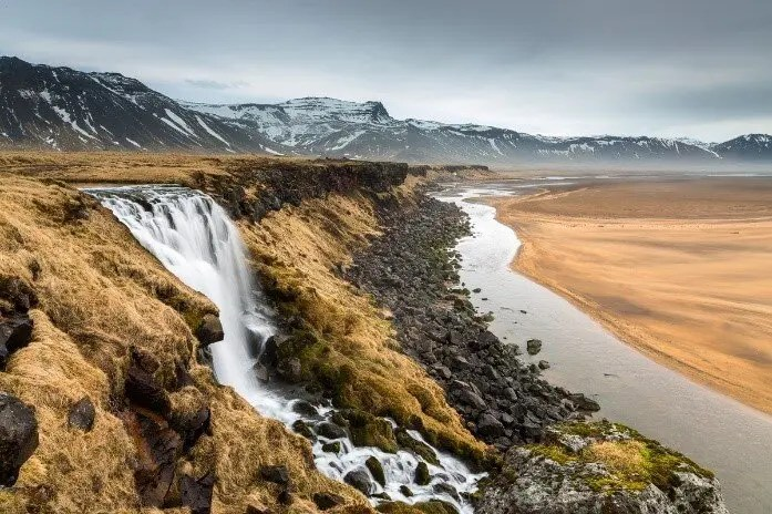 Do you know the name of this waterfall? We don´t but we think it is really pretty nevertheless.
