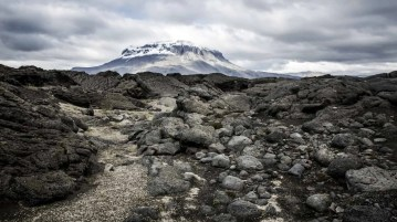 Mount Herðubreið.