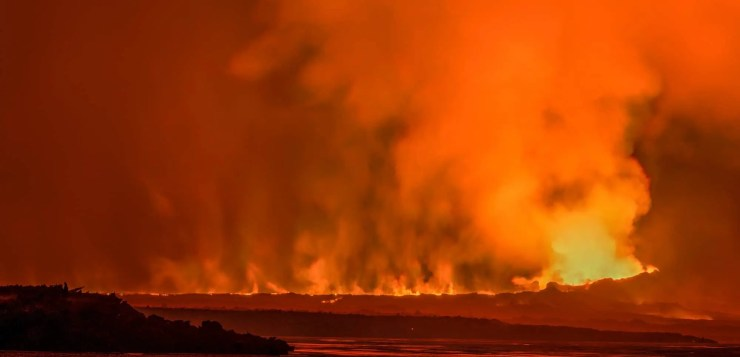 The Holuhraun eruption got pretty intense.