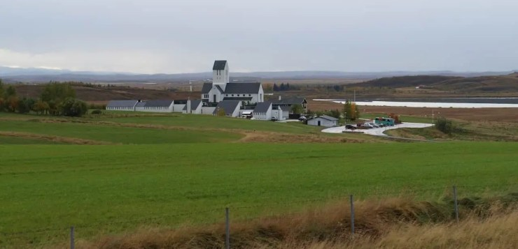 Skalholt. The birthplace of the Lewis Chessmen?