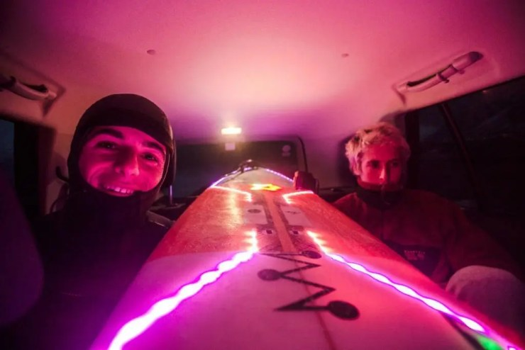 Yes, we decided to have a surfer disco.