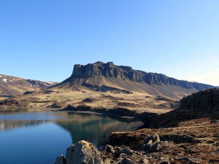 Þyrill Mountain in Hvalfjörður.