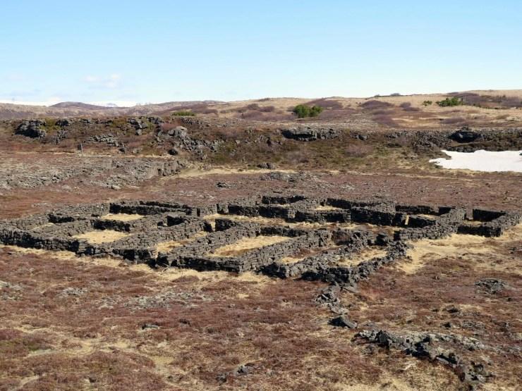 Old sheep enclosures.