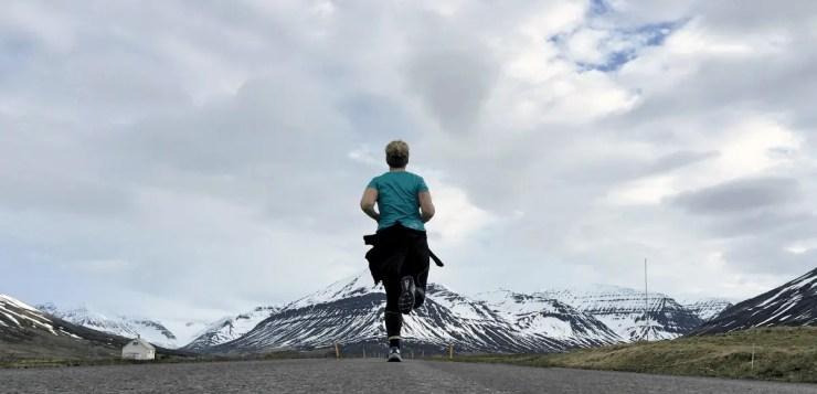 Running in Iceland!
