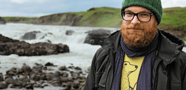 Kai Oidtmann is the author of a new Iceland book called 111 Places in Iceland You Should Not Miss
