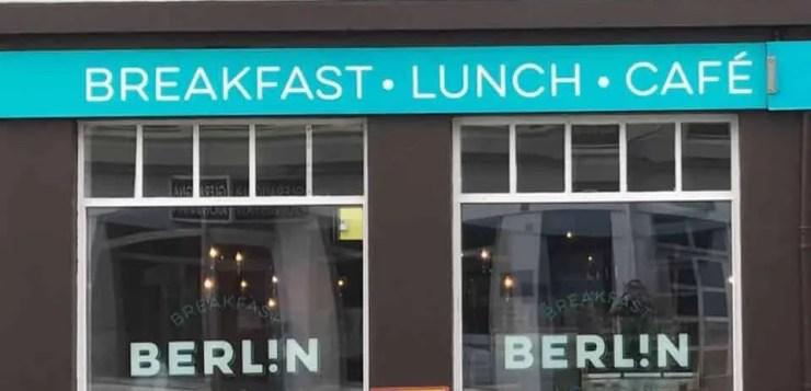 Berlín. Our favorite café in Akureyri.