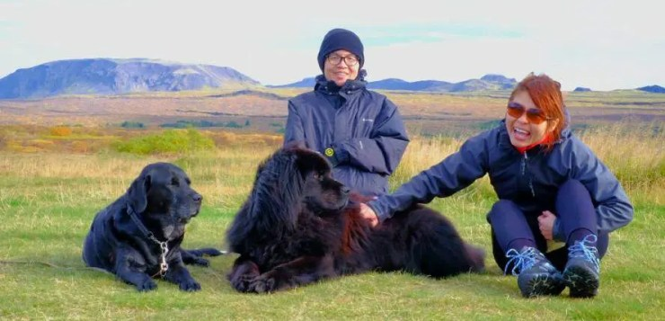 Eemei and Justin from Malaysia share their perspective on Iceland.