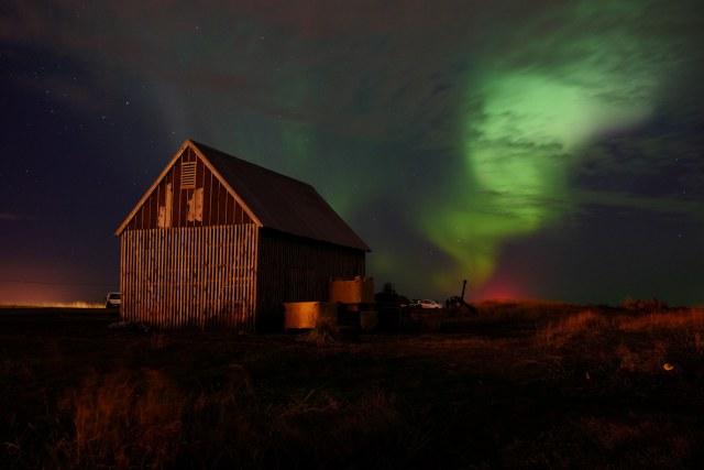 Northern Lights near Grotta.