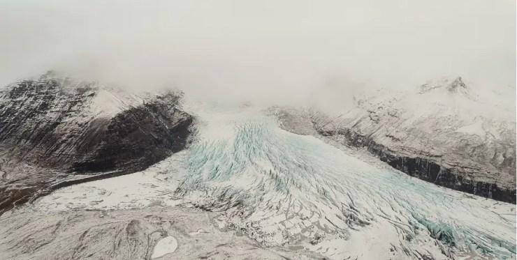 Svinafellsjökull glacier, south Iceland (frame from the short film where trees don´t go..