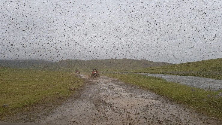 Buggy riding in Iceland.