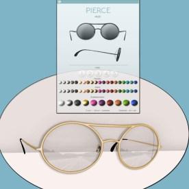 pierce glasses