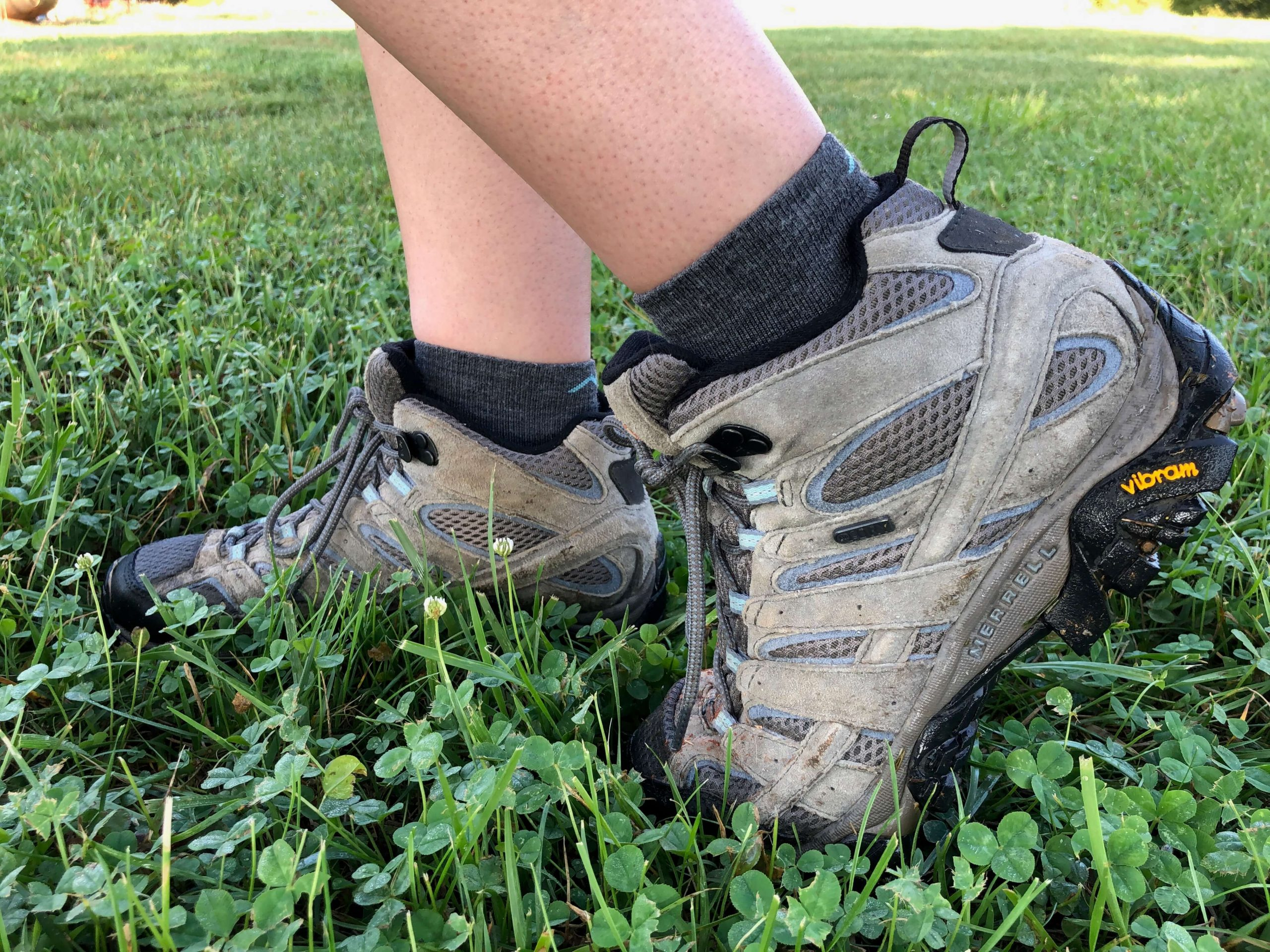 hiking boots in grass gifts for outdoorsy women
