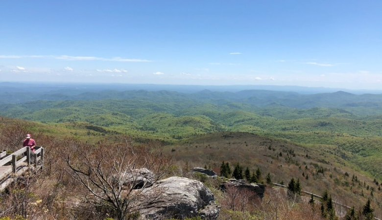 sweeping mountain view one of the best things to do in boone