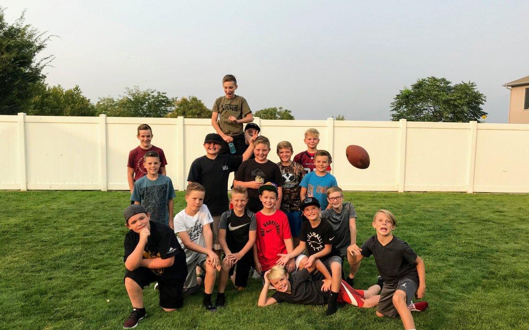 Little Dude's Turkey Bowl / Football Party