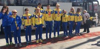 В Харькове торжественно встретили вернувшихся домой спортсменов-паралимпийцев 2