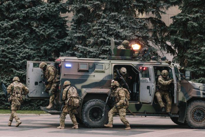 В Харькове силовики провели