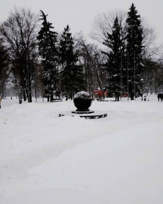 Харьков и дальше будет заметать снегом, полиции поручено убрать с улиц машины 7