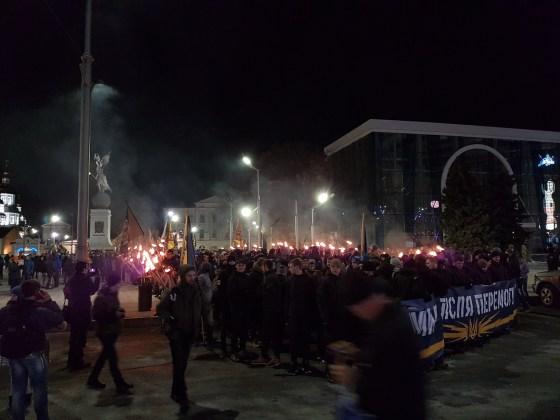 Фоторепортаж с марша Азова в Харькове 3