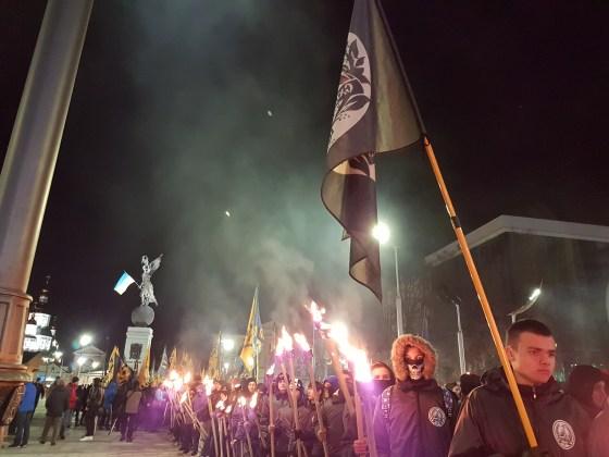 Фоторепортаж с марша Азова в Харькове 5