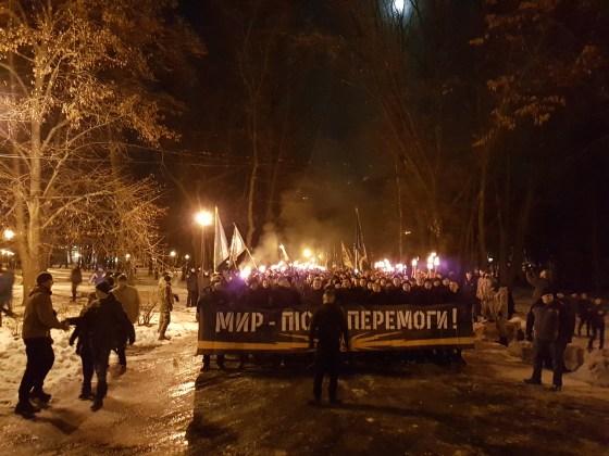 Фоторепортаж с марша Азова в Харькове 10