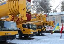 Украинские спасатели получили технику от Китая 7
