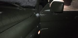 Неизвестные стреляли в автомобиль Олега Ширяева 1