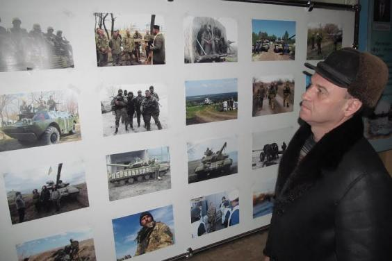В Харькове открылась выставка фоторабот украинских бойцов