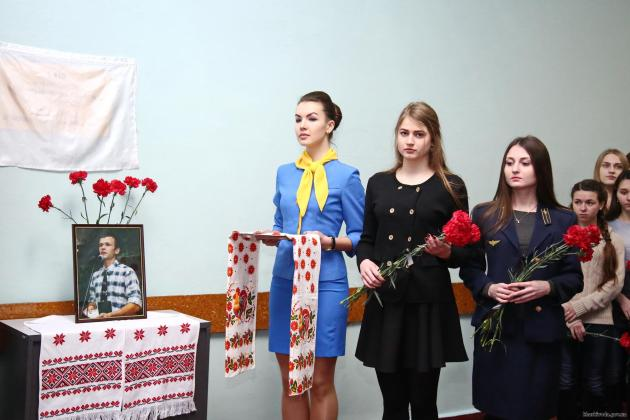 В харьковском ВУЗе открыли лабораторию в честь Героя Небесной Сотни 2