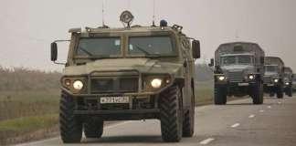 В Украину снова вторглась российская военная техника